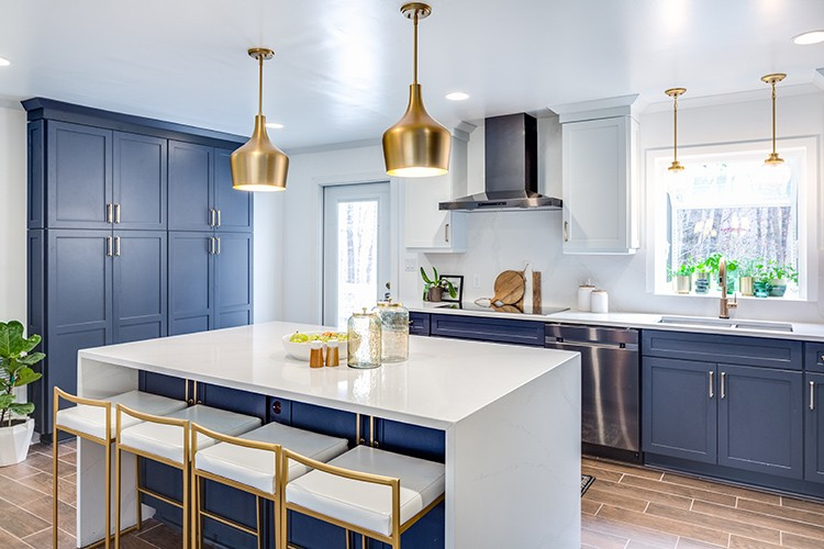 Ursula Carmona of Homemade by Carmona transforms her dysfunctional kitchen into a culinary dream with a complete kitchen remodel by The Home Depot.