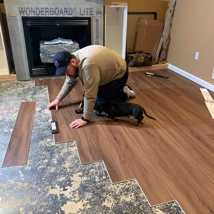 Chris Heider takes on a DIY vinyl flooring install project to refresh his family room space. Check out the finished product featuring Lifeproof floors.