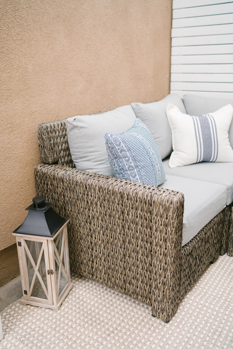 The Perfect Outdoor Summer Patio Hang-out Spot