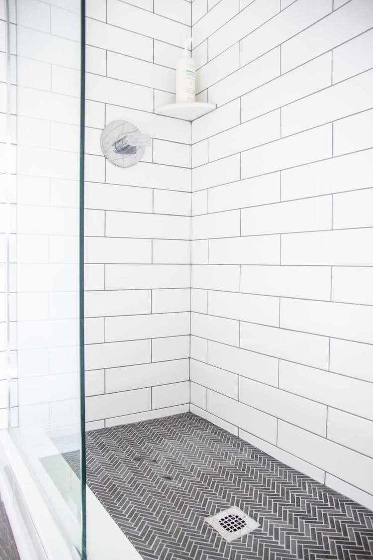 Classic Tile Style for a Walk-In Shower Renovation