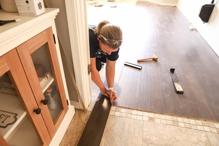 Master Bedroom Refresh with Waterproof Laminate Flooring