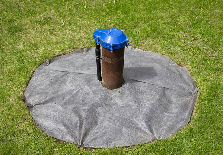 How to Build a Rock Area to Hide Front Yard Drilled Wellhead