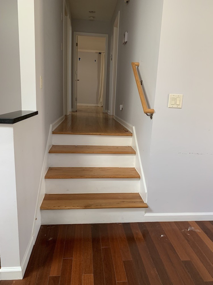 New Hardwood Flooring for a Home Renovation