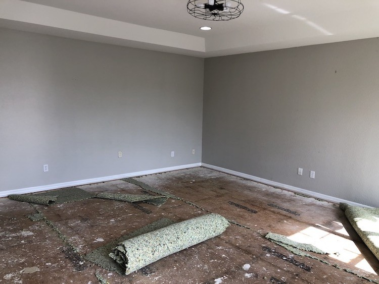 Bonus Room Makeover with Lifeproof Carpet