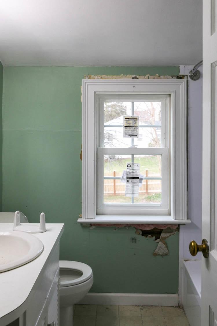 A Colonial Bathroom Renovation Maximizing Small Spaces