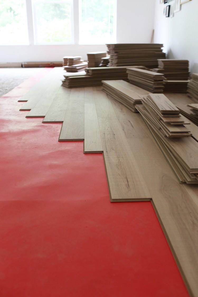 Upgrading to Engineered Hardwood Floors