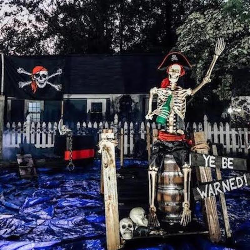 Pirate Themed Halloween