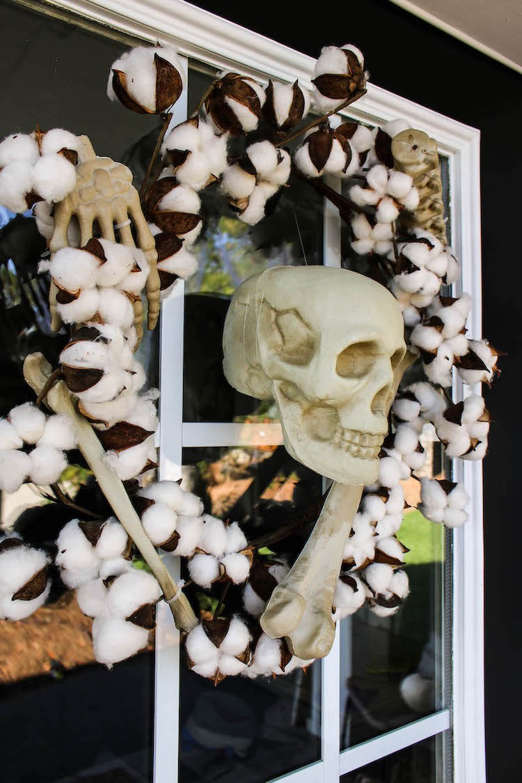 Spooky Halloween Cemetery Front Porch