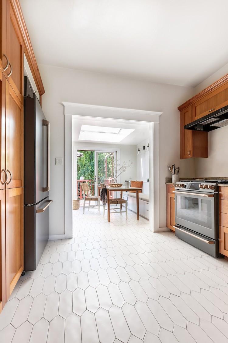 Updated Kitchen Flooring