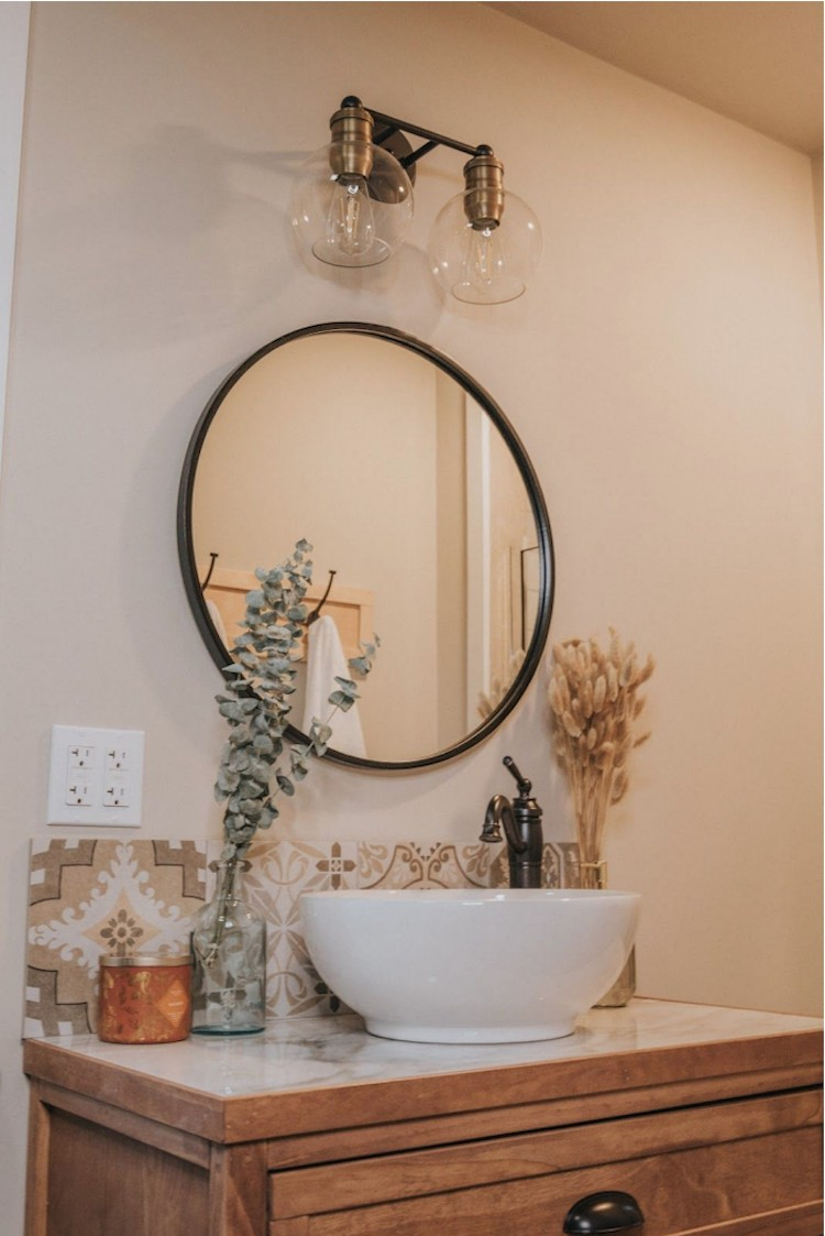 Small Mid-Century Bathroom Renovation