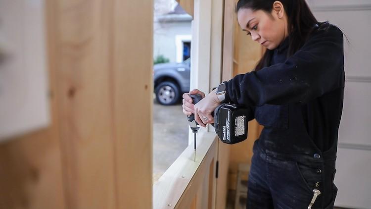 DIY Dutch Door Tutorial with Schlage Smart Lock